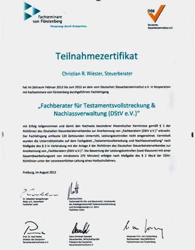 Fuerstenberg Fachberater